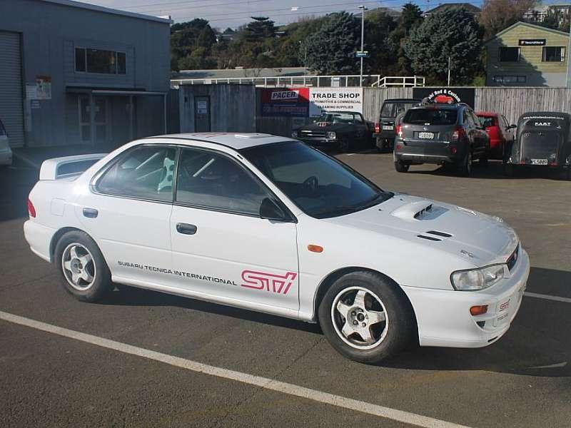 1993 Subaru Rally Car