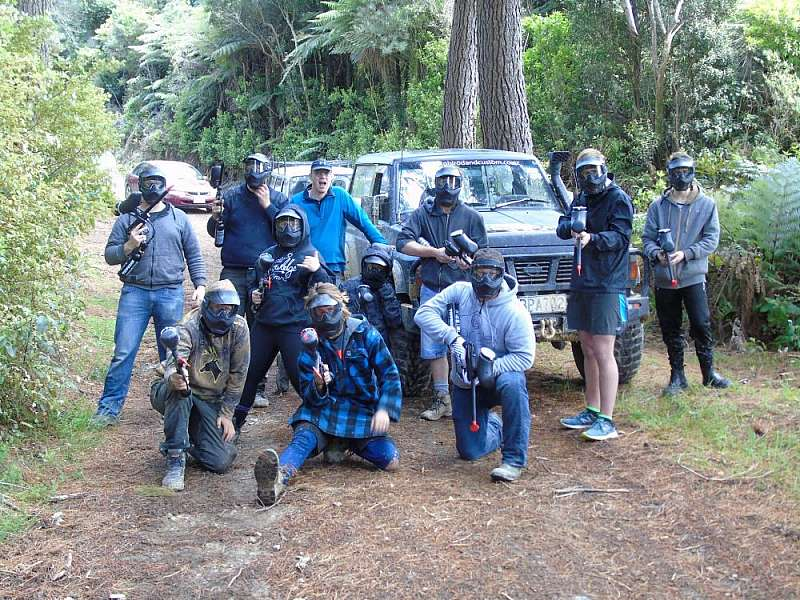 4x4 and paintball.