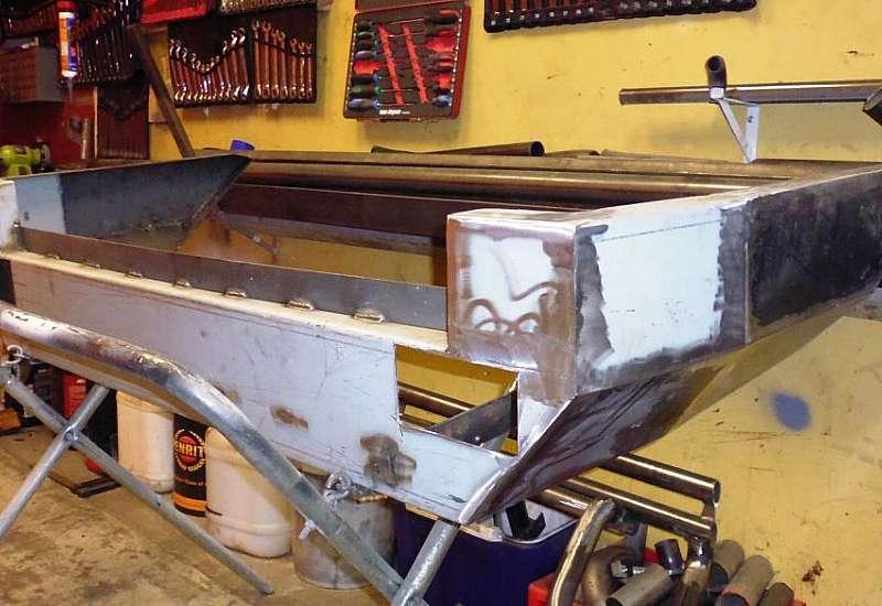Custom made 4x4 bumper