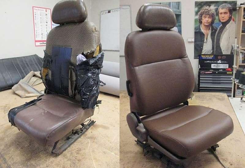 Truck seat COF repair