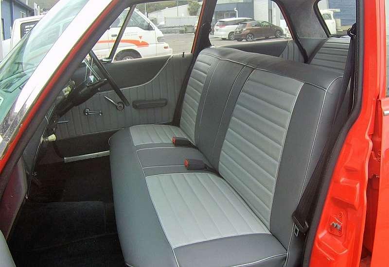 62  Dodge Dart interior
